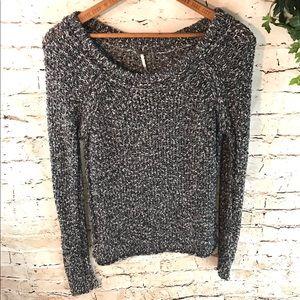 Free People Loose Knit Marled Sweater
